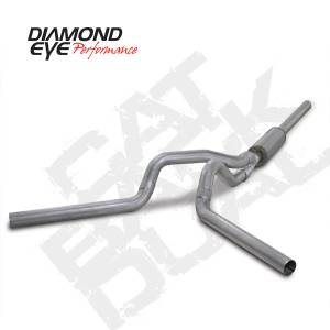 Diamond Eye Performance - Diamond Eye 2004-2007 Cummins Cat Back Dual Exhaust