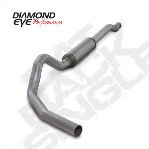 Diamond Eye Performance - Diamond Eye 2003-2007 Powerstroke Cat Back Exhaust