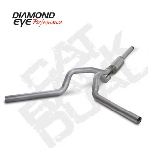 Diamond Eye Performance - Diamond Eye 1994-1997 Powerstroke Cat Back Dual Exhaust