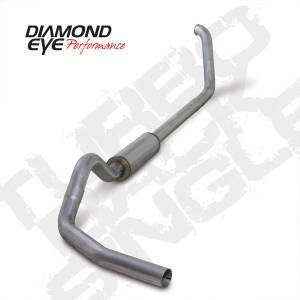 Diamond Eye Performance - Diamond Eye 1999-2003 Powerstroke Turbo Back Exhaust