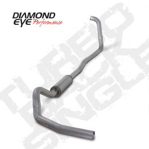 Diamond Eye Performance - Diamond Eye 2003-2007 Powerstroke Turbo Back Exhaust
