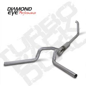 Diamond Eye Performance - Diamond Eye 1999-2003 Powerstroke Turbo Back Dual Exhaust