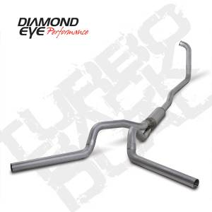 Exhaust - Exhaust Systems - Diamond Eye Performance - Diamond Eye 2003-2007 Powerstroke Turbo Back Dual Exhaust