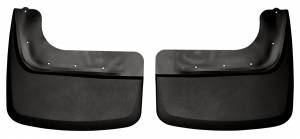 Husky Liners - Husky Liners 2011-2014 Super Duty Dually Rear Custom Molded Mud Flaps - Image 1
