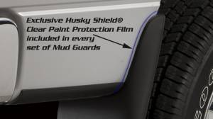 Husky Liners - Husky Liners 2011-2014 Super Duty Dually Rear Custom Molded Mud Flaps - Image 2