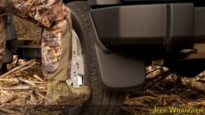 Husky Liners - Husky Liners 2011-2014 Super Duty Dually Rear Custom Molded Mud Flaps - Image 3