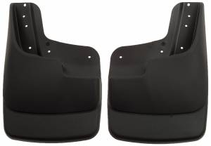 Exterior - Exterior Accessories - Husky Liners - Husky Liners 2003-2010 Super Duty Front Molded Mud Flaps With Factory Flares