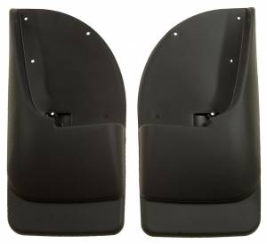 Exterior - Exterior Accessories - Husky Liners - Husky Liners 1999-2010 Super Duty Rear Molded Mud Flaps Without Flares