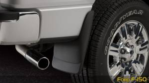 Husky Liners - Husky Liners 1999-2010 Super Duty Rear Molded Mud Flaps Without Flares - Image 4