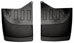 Exterior - Exterior Accessories - Husky Liners - Husky Liners 2001-2007 Silverado|Sierra Dually Rear Molded Mud Flaps