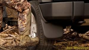 Husky Liners - Husky Liners 2007-2014 Silverado|Sierra Dually Rear Molded Mud Flaps - Image 3