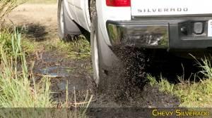 Husky Liners - Husky Liners 2007-2014 Silverado|Sierra Dually Rear Molded Mud Flaps - Image 5