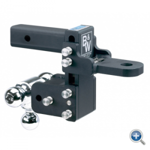 """B&W Hitches - B&W Hitches Tow and Stow Receiver Hitch 5"""" Drop - Image 3"""