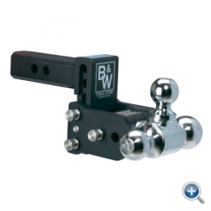 """B&W Hitches - B&W Hitches Tow and Stow Receiver Hitch 9"""" Drop - Image 2"""