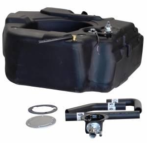 Titan Fuel Tanks - Titan Fuel Tanks 30 Gallon Spare Tire Replacement Fuel Tank