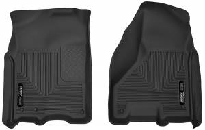 Interior - Floor Mats & Liners - Husky Liners - Husky Liners X-act Contour Front Floor Liners Dodge Ram 2010-2016