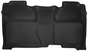 Husky Liners - Husky Liners X-act Contour Full Rear Floor Liners Double Cab Silverado/Sierra 2015-2016