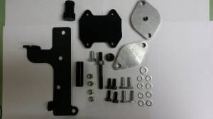Exhaust - EGR Parts - PowerTech Diesel - PowerTech Diesel EGR Delete Kit Cummins 2009-2015