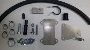 Exhaust - EGR Parts - PowerTech Diesel - PowerTech Diesel EGR Delete Kit Duramax 2011-2015