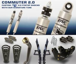 Carli Suspension - Carli Suspension Commuter 2.0 Dodge Ram 3500 2013+