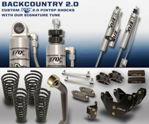 Carli Suspension - Carli Suspension Back Country 2.0 Dodge Ram 2500 2014+