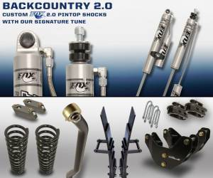 Carli Suspension - Carli Suspension Back Country 2.0 Dodge Ram 3500 2013+