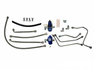 Fuel System - Fuel System Parts - PowerTech Diesel - 6.0L Powerstroke Regulated Fuel Return system