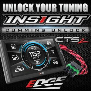 2007.5-2019 Dodge 6.7L 24V Cummins - Programmers/Tuners/Chips - Edge Products - Edge Insight CTS with 13 up Cummins ecu unlock