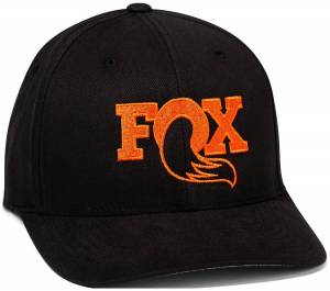 Gear & Apparel - Hats - Fox Factory Inc - Fox Factory Inc 2018, FOX, Boldy 2.0, Black/Orange, S/M 495-01-300