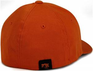 Gear & Apparel - Hats - Fox Factory Inc - Fox Factory Inc 2017, FOX Youth Heritage Hat, Orange, 6 1/2in. - 7in. 495-01-258