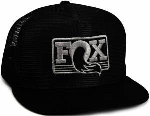 Gear & Apparel - Hats - Fox Factory Inc - Fox Factory Inc 2017, FOX All Meshed Up Hat, Black/Grey, O/S 495-01-226