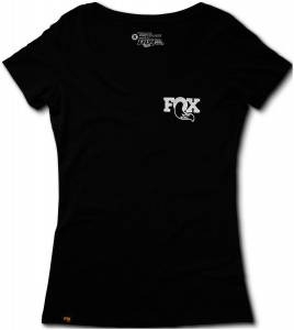 Gear & Apparel - Shirts - Fox Factory Inc - Fox Factory Inc 2017, FOX Women's Ride 2.0 Tee, 60% Cotton/40% Poly, Black, XL 495-01-248