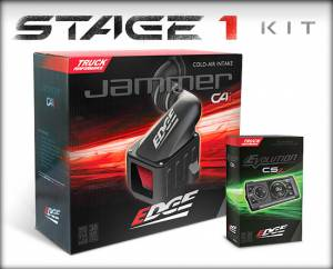 Air Intakes & Accessories - Air Intake Kits - Edge Products - Edge Products Jammer Cold Air Intakes 19001
