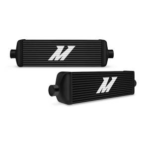Intercoolers and Pipes - Intercoolers - Mishimoto - Mishimoto Mishimoto Universal Intercooler J-Line, Black MMINT-UJB