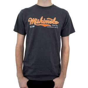 Gear & Apparel - Shirts - Mishimoto - Mishimoto Mishimoto Men's Athletic Script T-Shirt, Gray MMAPL-SCRIPT-GYS
