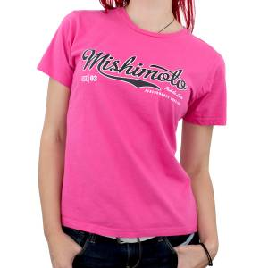 Gear & Apparel - Shirts - Mishimoto - Mishimoto Mishimoto Women's Athletic Script T-Shirt, Pink MMAPL-SCRIPT-PKS