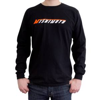 Gear & Apparel - Shirts - Mishimoto - Mishimoto Mishimoto Long-Sleeve Logo Shirt MMAPL-LOGO-LSBKM